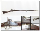 FINE CIVIL WAR Springfield U.S. Model 1863 Percussion Type I RIFLE-MUSKET Made at the SPRINGFIELD ARMORY Circa 1864