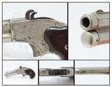 Rare FACTORY ENGRAVED Antique REMINGTON-RIDER Magazine .32 Rimfire Pistol .32 Extra Short Rimfire Pocket Pistol