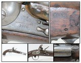 Antique ROBERT JOHNSON US Model 1836 .54 Cal. Smoothbore FLINTLOCK Pistol STANDARD ISSUE of the MEXICAN-AMERICAN WAR!