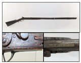 SOUTHERN POOR BOY Antique Smoothbore LONG RIFLE Tiger Maple .47 Caliber Full-Stock Kentucky Rifle with SILVER INLAID Barrel - 1 of 25