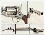 NAVY marked CIVIL WAR Antique WHITNEY .36 Revolver