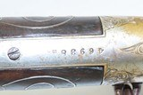 Engraved WINCHESTER Model 1866 SILVER INLAID Saddle Ring .44 Henry CARBINE Retailer Engraved, Nickel Finished SRC! - 6 of 25