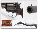 FINE, RARE, CASED MASS. ARMS Pocket Model ADAMS PATENT Percussion Revolver 1 of Only 100 Manufactured in This Configuration! - 1 of 21