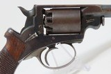 FINE, RARE, CASED MASS. ARMS Pocket Model ADAMS PATENT Percussion Revolver 1 of Only 100 Manufactured in This Configuration! - 11 of 21