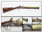 REVOLUTIONARY WAR Era ROBERT WOGDON Made British FLINTLOCK BLUNDERBUSS DESIREABLE 240+ Year Old BRASS BARRELED Close Range Weapon!