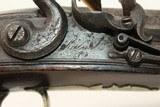 British Antique KETLAND Officer's FLINTLOCK Pistol .577 Caliber Pistol Made Circa - 7 of 19