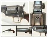 Antique COLT 1848 BABY DRAGOON Revolver SCARCE Revolver Made In 1849 in Hartford, Connecticut
