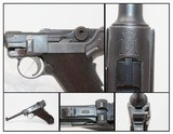"""Rare ROYAL PORTUGUESE ARMY Contract LUGER Pistol 1 of 5,000 DWM Pistol with """"CROWN/M2"""" Chamber Marking"""