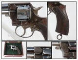 TORONTO POLICE FORCE Antique WEBLEY RIC No. 1 Revolver .442 British Fine CANADIAN POLICE Service Revolver