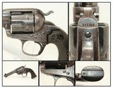 COLT Bisley SINGLE ACTION ARMY .41 LC Revolver SAA in SCARCE .41 Caliber Long Colt Manufactured in 1907