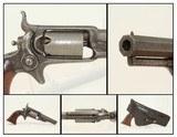 HOLSTERED COLT Model 1855 ROOT Pocket .28 Revolver ANTEBELLUM Side-hammer Revolver Made in 1857
