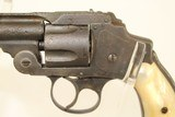 Antique 1 of 100 U.S. Army Contract S&W .38 Safety Hammerless Revolver 1890 Exceedingly Rare U.S. Martial Firearm w Factory Letter - 4 of 19