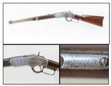 Antique WINCHESTER Model 1873 Lever Action Repeating SADDLE RING CARBINEIconic Repeating Rifle Chambered In .44-40 WCF - 1 of 21