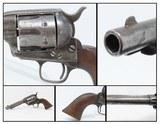 Antique COLT ARTILLERY U.S. Model SINGLE ACTION ARMY .45 Caliber Revolver BLACK POWDER FRAME Revolver from the Spanish-American War Period!