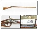 GERMANIC Antique JAEGER Musket CARVED STOCK Smoothbore Maker Marked .63 Cal Gorgeous Old-World Craftsmanship!