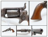 """Antique Pre-CIVIL WAR COLT 1855 """"ROOT"""" Side-Hammer POCKET Revolver .28 Cal Side-hammer Revolver Made in 1857"""
