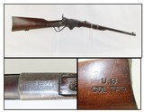 COLORADO TERRITORY Marked BURNSIDE-SPENCER 1865 Saddle Ring Carbine Rare 1 of 500 Given to the COLORADO TERRITORY by the Federal Govt