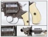 "Antique LIDDLE & KAEDING of SAN FRANCISCO ""BULLDOG"" Revolver ENGRAVED Revolver Registered to JOSE LOPEZ PORTILLO!"