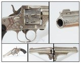 7-SHOT, ENGRAVED Antique MERWIN, HULBERT & Co. .32 S&W REVOLVER Wild West VERY FINE and FACTORY ENGRAVED Double Action Revolver!