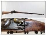 WICKHAM Model 1816 FLINTLOCK Musket c. 1822-1837 Original US Flintlock by Famous Contractor