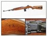 1943 World War II US STANDARD PRODUCTS M1 Carbine .30 Cal. Light Rifle WW2 Dated January 1943!