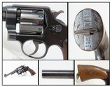 1918 WWI U.S. Army SMITH & WESSON Model 1917 .45 ACP Revolver C&R GREAT WAR 2nd YEAR WWI Revolver to Supplement M1911 - 1 of 20