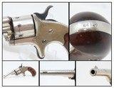 1875 Antique COLT OPEN TOP.22 Caliber RIMFIRE Pocket REVOLVER Spur Trigger Colt's Answer to Smith & Wesson's No. 1 Revolver