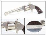 """CIVIL WAR Era Antique SMITH & WESSON No. 2 """"OLD ARMY"""" .32 Rimfire Revolver Made During the Civil War Era Circa 1864"""