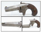 FACTORY ENGRAVED Antique COLT 2nd Model .41 Caliber RIMFIRE Deringer