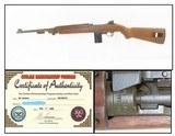 "WORLD WAR II Era U.S. INLAND M1 Carbine .30 Caliber Light Rifle C&R WW2 Manufactured by the ""Inland Division"" of GENERAL MOTORS"