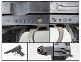 "WWII Imperial JAPANESE Nagoya KOKUBUNJI Type 94 Semi-Automatic C&R Pistol World War II Dated ""September 1943"" Jap Service Pistol - 1 of 20"