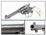 """Iconic COLT Model 1877 """"LIGHTNING"""" .38 Long Colt Double Action REVOLVER C&R Made in 1905 with PEARL GRIPS!"""
