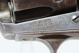 First Generation COLT Bisley SINGLE ACTION ARMY .44-40 WCF C&R Revolver Manufactured in 1902 in Hartford, Connecticut - 6 of 19