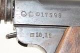 WWII Imperial JAPANESE KOKUBUNJI Type 14 NAMBU Semi-Automatic C&R PistolWorld War II Pacific Theater Sidearm! - 16 of 20