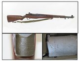 """1955 SPRINGFIELD U.S. M1 GARAND .30-06 Caliber Infantry Rifle with CANVAS SLING """"The greatest battle implement ever devised""""- George Patton - 1 of 20"""