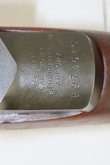 """1955 SPRINGFIELD U.S. M1 GARAND .30-06 Caliber Infantry Rifle with CANVAS SLING """"The greatest battle implement ever devised""""- George Patton - 9 of 20"""