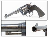 "COLT ""NEW SERVICE"" Model 1909 .45 Colt Double Action C&R SIX-SHOT Revolver Post WWI-era Large Frame Revolver"