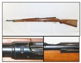 GERMAN Mauser Deutsches SPORTMODELL Single Shot 22 LR BOLT ACTION C&R Rifle DSM-34 German SPORTING/TRAINING Rifle with LEATHER SLING!