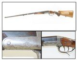 EARLY 1900s GERMAN STALKING Rifle 8mm Single Shot Break Action Double Set Trigger Pre-WWII Great Rifle to Hunt Deer-Sized Game!