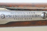 1907 WINCHESTER Takedown Model 1886 LIGHT WEIGHT Lever Action C&R RIFLE .33 Turn of the Century TAKEDOWN RIFLE! - 12 of 21