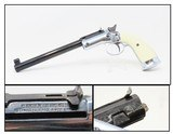 WEST GERMAN Hy Hunter STEVENS Style TIP-UP.22 LR Target Pistol Very Nice .22 LR Rimfire Single Shot Pistol - 1 of 19