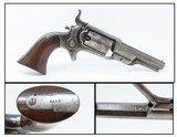 """Antique Pre-CIVIL WAR COLT Model 1855 """"ROOT"""" Side-Hammer POCKET Revolver Side-hammer Revolver Made in 1856"""