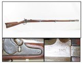 """CIVIL WAR Antique US SPRINGFIELD ARMORY Model 1855 .58 Caliber Rifle-MUSKET Maynard Tape Primed Musket with Lock Dated """"1860""""! - 1 of 24"""