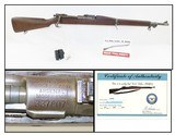 1919 US ROCK ISLAND ARSENAL M1903 .30-06 Bolt Action MILITARY Rifle C&R Infantry Rifle Made in 1919 In ROCK ISLAND, ILLINOIS
