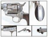 Antique COLT ARTILLERY U.S. Model SINGLE ACTION ARMY .45 Caliber Revolver HENRY NETTLETON INSPECTED Spanish-American War Period Revolver!