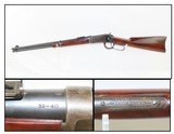1909 WINCHESTER Model 1894 Lever Action .32-40 WCF SADDLE RING Carbine C&R With GORGEOUS WOOD GRAIN STOCK!