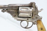 """Antique """"BELGIAN"""" Marked Double Action Top Break .44-40 WCF Cal. REVOLVER Late 19th Century Belgian Revolver with BONE GRIPS! - 12 of 17"""