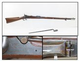 Antique U.S. SPRINGFIELD Model 1884 TRAPDOOR Rifle .45-70 GOVT with BAYONET Manufactured at the SPRINGFIELD ARMORY