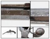CSA NEW ORLEANS Antique HYDE & GOODRICH TRANTER Type PERCUSSION RevolverCirca 1861 NEW ORLEANS Sidearm! - 1 of 19