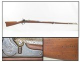 Scarce CIVIL WAR Antique US HARPERS FERRY Model 1855 Rifle-MUSKET Branded Dated 1858 w Soldier Graffiti!